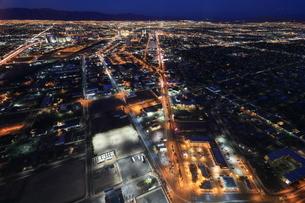 ラスベガス夜景の写真素材 [FYI01269679]
