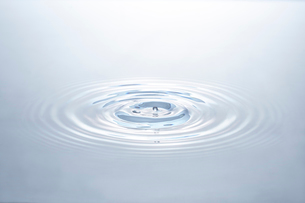 水の波紋の写真素材 [FYI01269756]