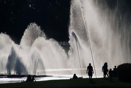 噴水の写真素材 [FYI01270100]