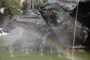 噴水の写真素材 [FYI01270101]