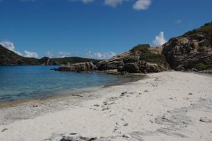 南国沖縄の渡嘉敷島の無人島の写真素材 [FYI01270150]
