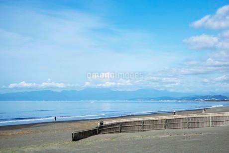 海の空と砂浜の写真素材 [FYI01270778]