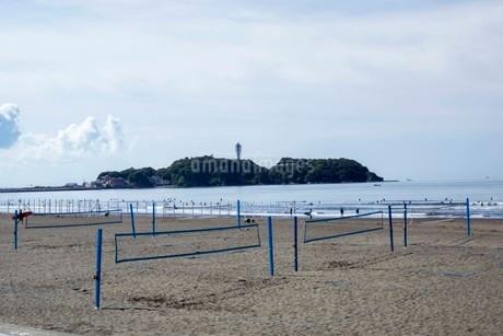 海の空と砂浜の写真素材 [FYI01270779]