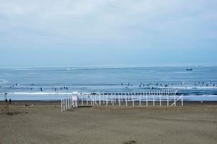 海の空と砂浜の写真素材 [FYI01270780]
