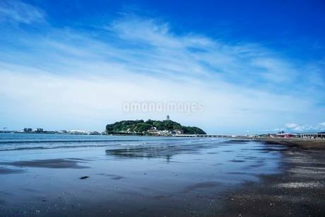 海の空と砂浜の写真素材 [FYI01270782]