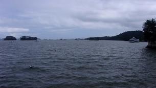 宮城県・松島の海の写真素材 [FYI01271148]