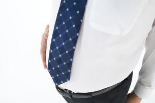 スーツを着た肥満の男性の写真素材 [FYI01273239]