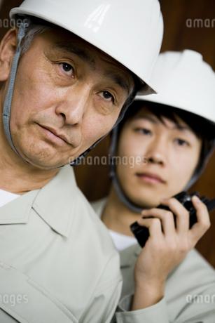 作業員の男性の写真素材 [FYI01274292]