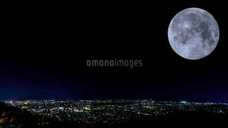 京都夜景の写真素材 [FYI01275413]