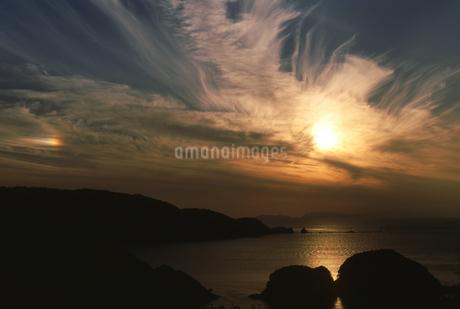 海の夕景の写真素材 [FYI01275483]