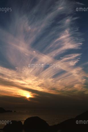 海の夕景の写真素材 [FYI01275491]