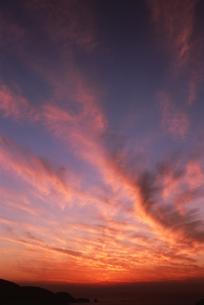 夕焼けの写真素材 [FYI01275492]