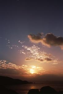 海の夕景の写真素材 [FYI01275495]