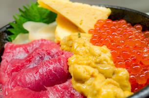 海鮮丼の写真素材 [FYI01276116]