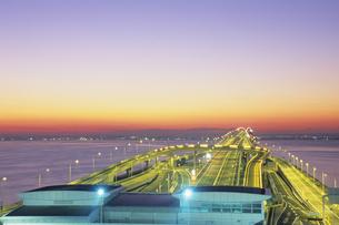 東京湾アクアラインの写真素材 [FYI01280574]