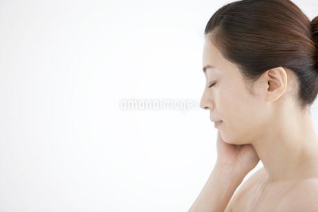 日本人女性のビューティーイメージの写真素材 [FYI01280827]
