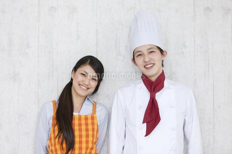主婦とコックの写真素材 [FYI01282777]