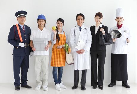 色々な職業の人々の写真素材 [FYI01282805]