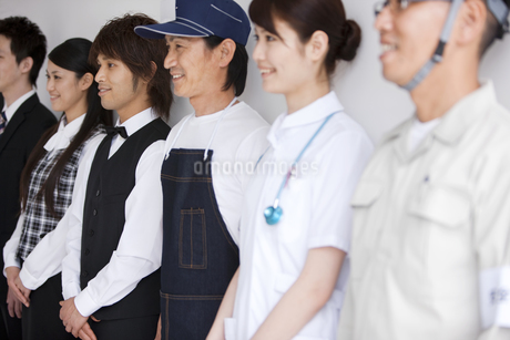 色々な職業の人々の写真素材 [FYI01282820]