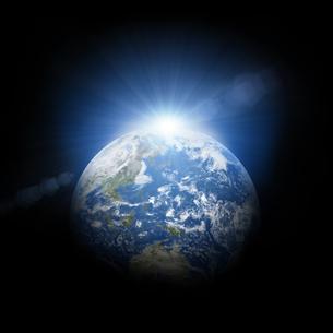 地球イメージのイラスト素材 [FYI01287285]