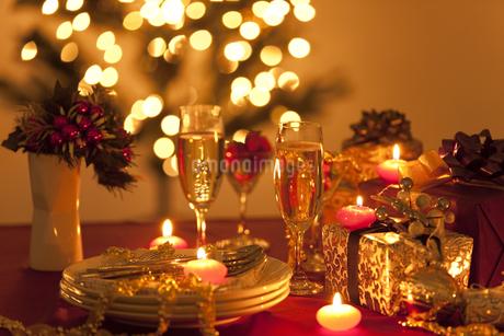 クリスマスパーティーイメージの写真素材 [FYI01287453]