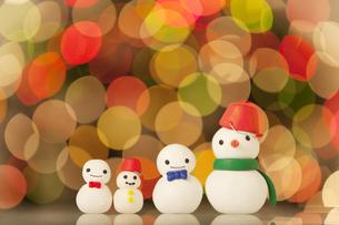 雪だるまの人形の写真素材 [FYI01288059]