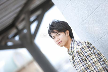 笑顔の男の子の写真素材 [FYI01291550]
