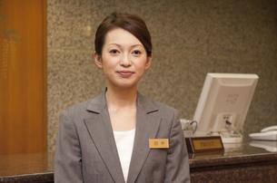 女性従業員の写真素材 [FYI01291939]