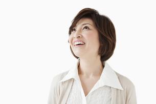 笑顔の中高年女性の写真素材 [FYI01292218]