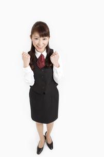 会社の制服を着た女性の写真素材 [FYI01292268]