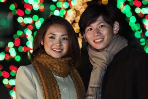 笑顔のカップルの写真素材 [FYI01292458]