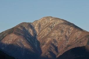 冬の大室山の写真素材 [FYI01292494]