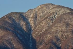 冬の大室山の写真素材 [FYI01292495]