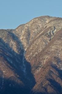 冬の大室山の写真素材 [FYI01292496]