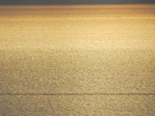 日本海の黄昏の写真素材 [FYI01292562]