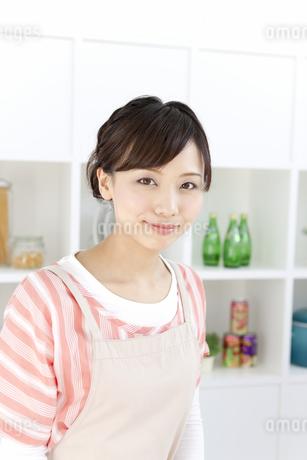 笑顔の女性の写真素材 [FYI01295190]