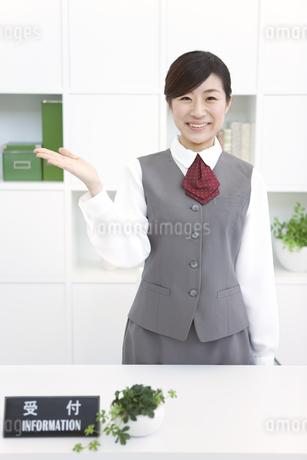受付の女性の写真素材 [FYI01296716]