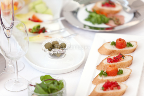 パーティー料理の写真素材 [FYI01298000]