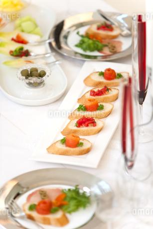パーティー料理の写真素材 [FYI01298007]
