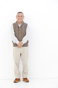 シニア男性のポートレートの写真素材 [FYI01299348]