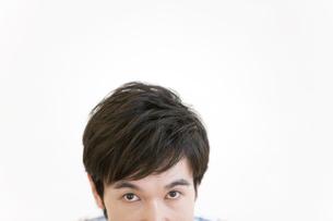 男性の顔の写真素材 [FYI01299458]