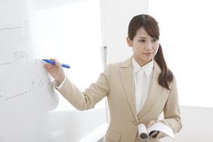 英語を教える塾の先生の写真素材 [FYI01299587]