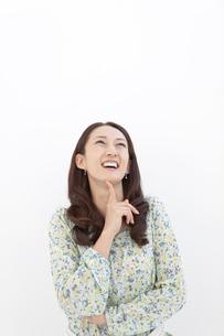 笑顔の中高年女性の写真素材 [FYI01300306]