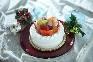 クリスマスケーキの写真素材 [FYI01302960]