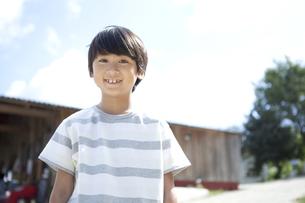 笑顔の男の子の写真素材 [FYI01304351]
