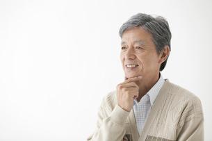 笑顔の中高年男性の写真素材 [FYI01308563]