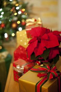 クリスマスプレゼントイメージの写真素材 [FYI01308998]