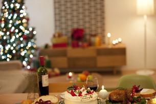 クリスマスパーティーイメージの写真素材 [FYI01309659]