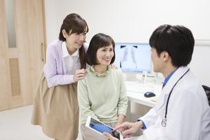 問診をする医師と患者の写真素材 [FYI01313390]