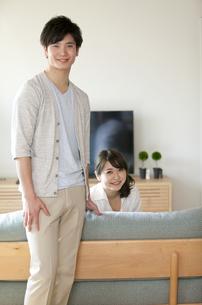 笑顔の夫婦の写真素材 [FYI01320708]